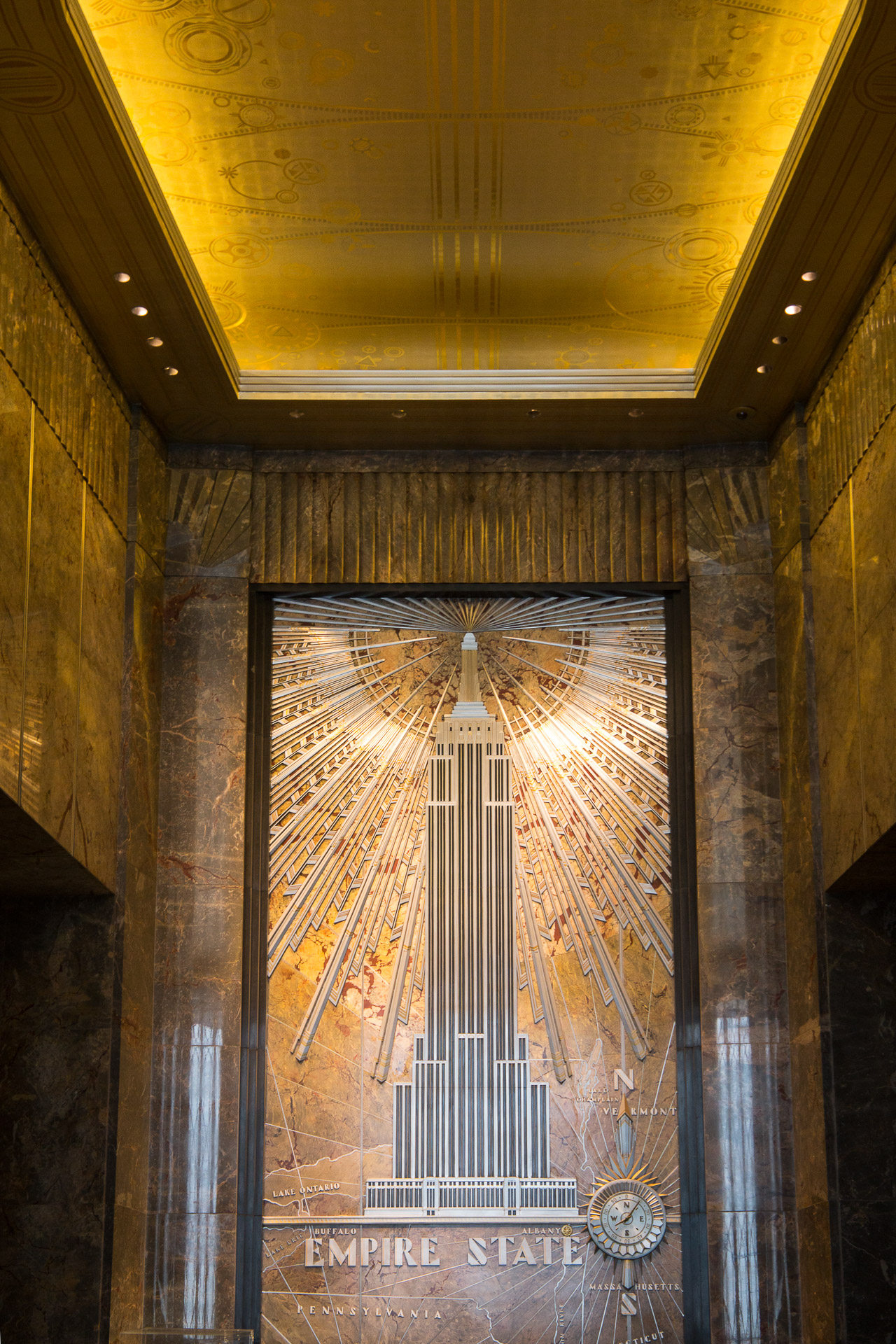 Lobby des Empire State Building