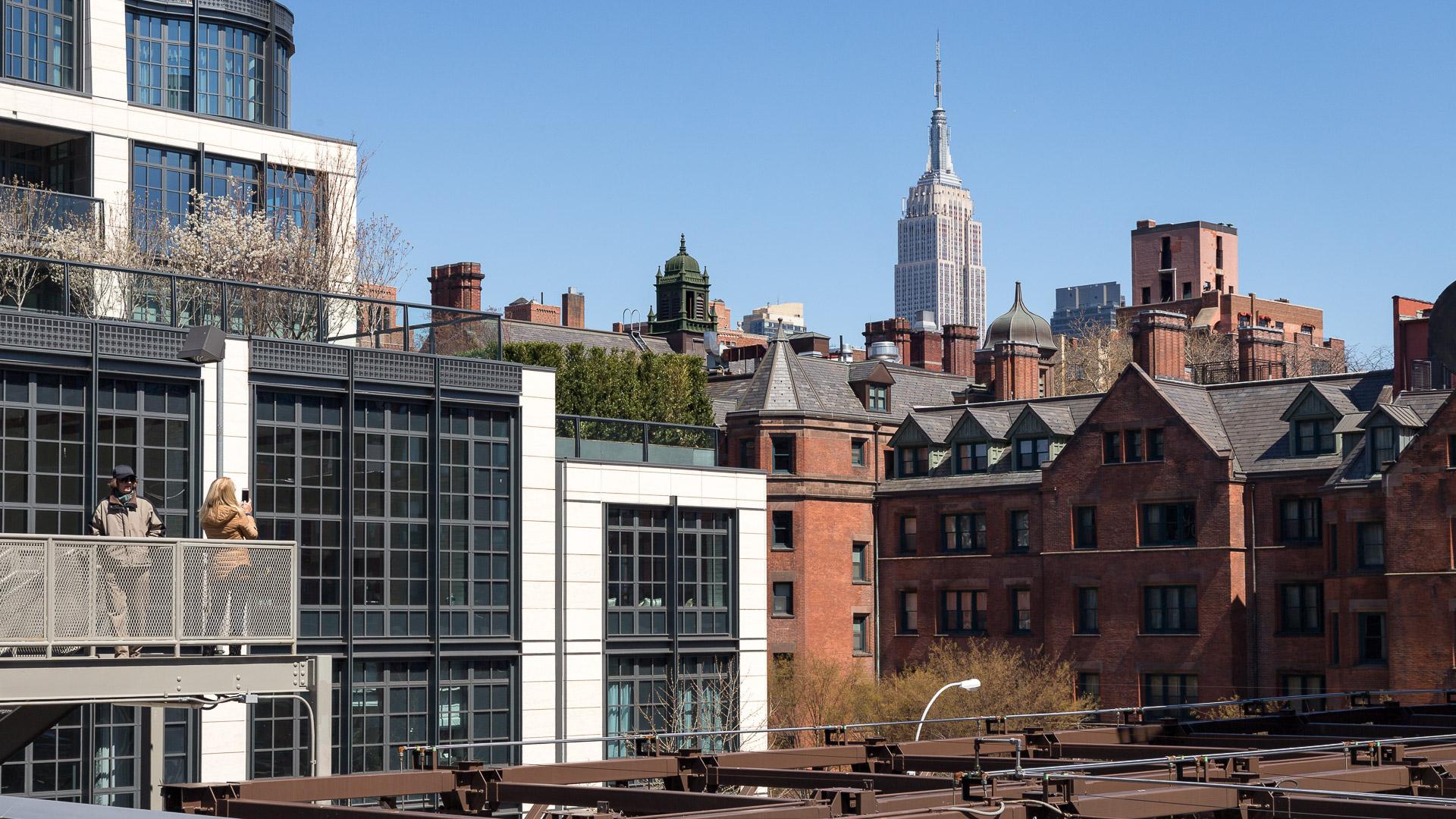 Blick von Highline Park