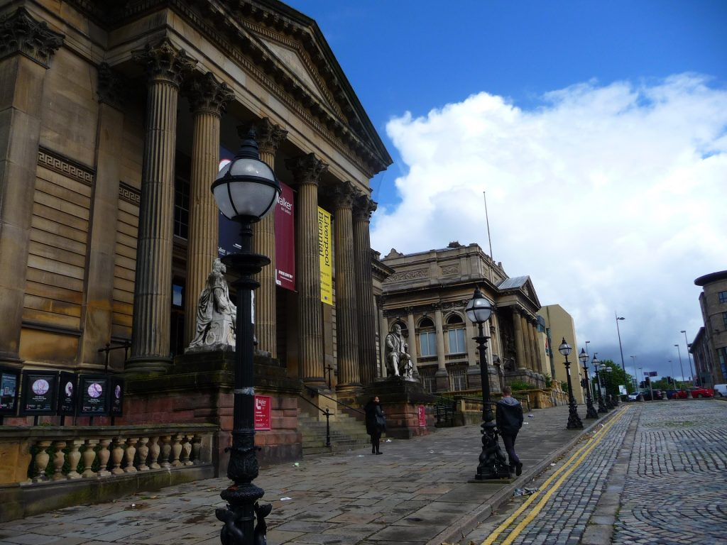 St. George's Quarter, die Museumsmeile in Liverpool