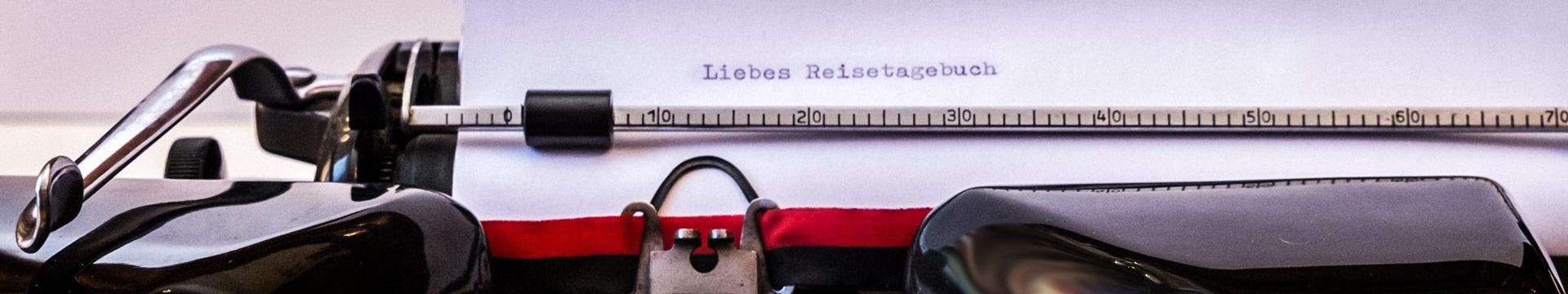 Reise-Schreibmaschine