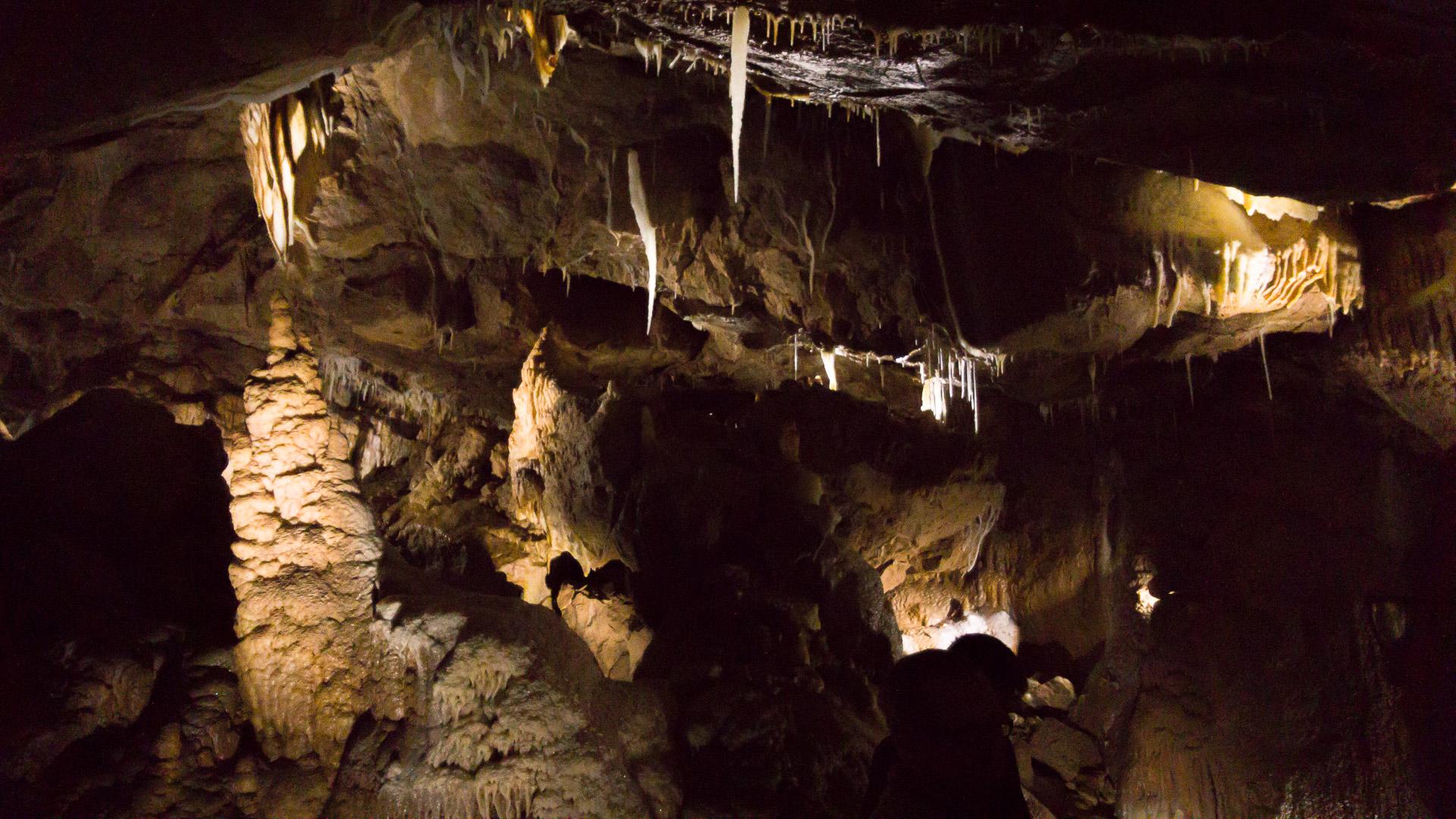 Sinter in der Höhle