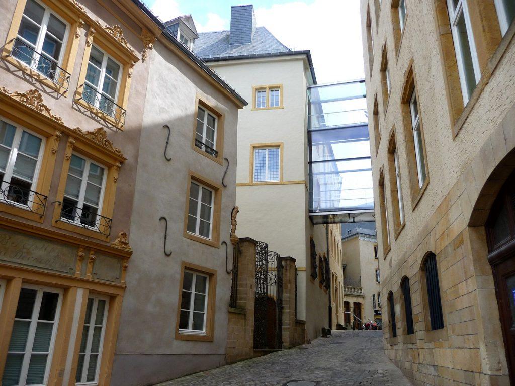Gasse in Luxemburg