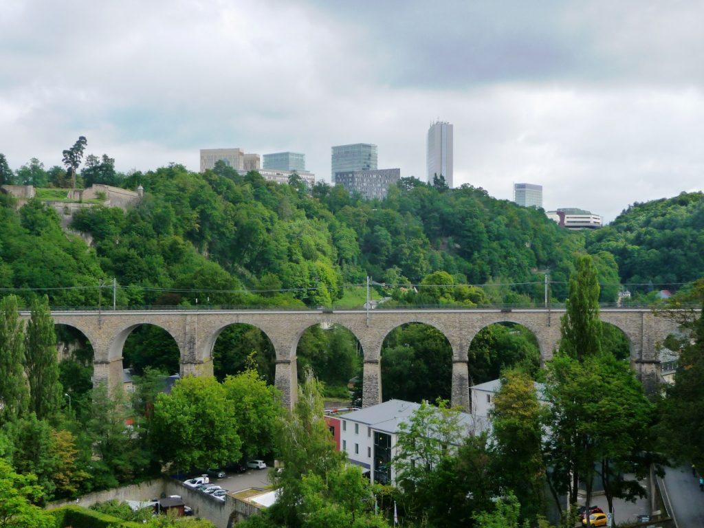 Luxemburg, Kirchberg