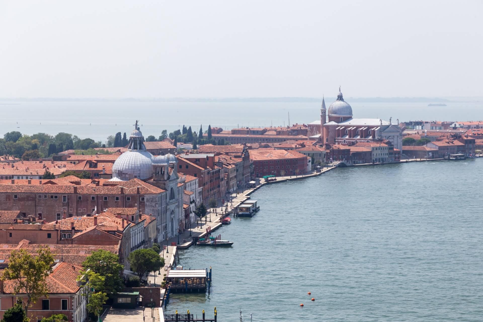 Giudecca von San Giorgio aus gesehen