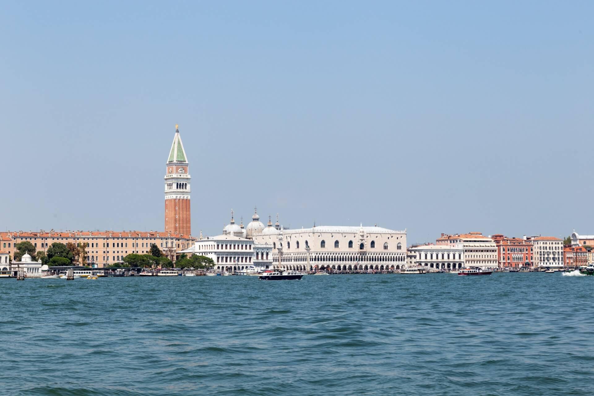 Venedig von Giudecca aus gesehen