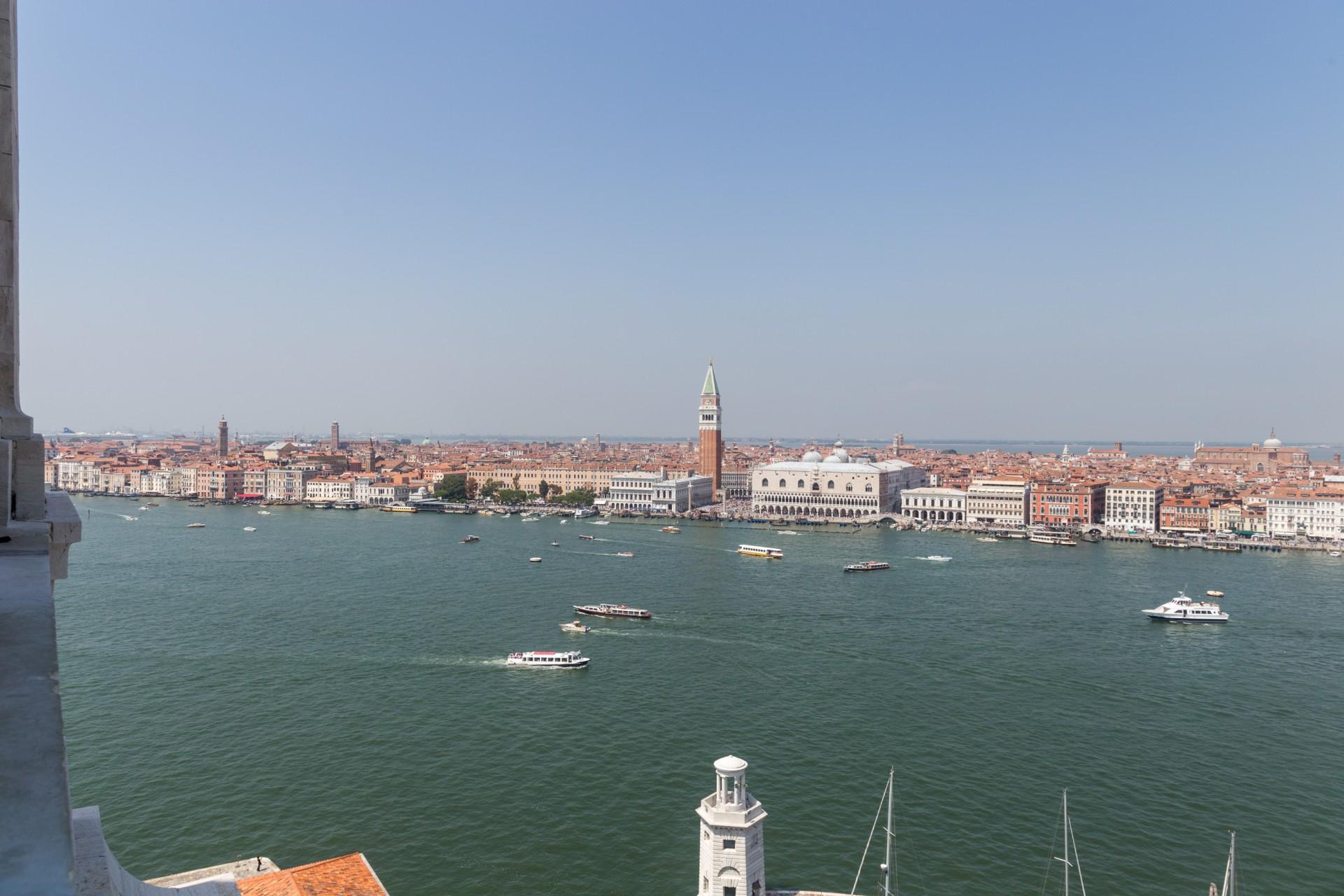 Blick auf Venedig von San Girogio Maggiore aus
