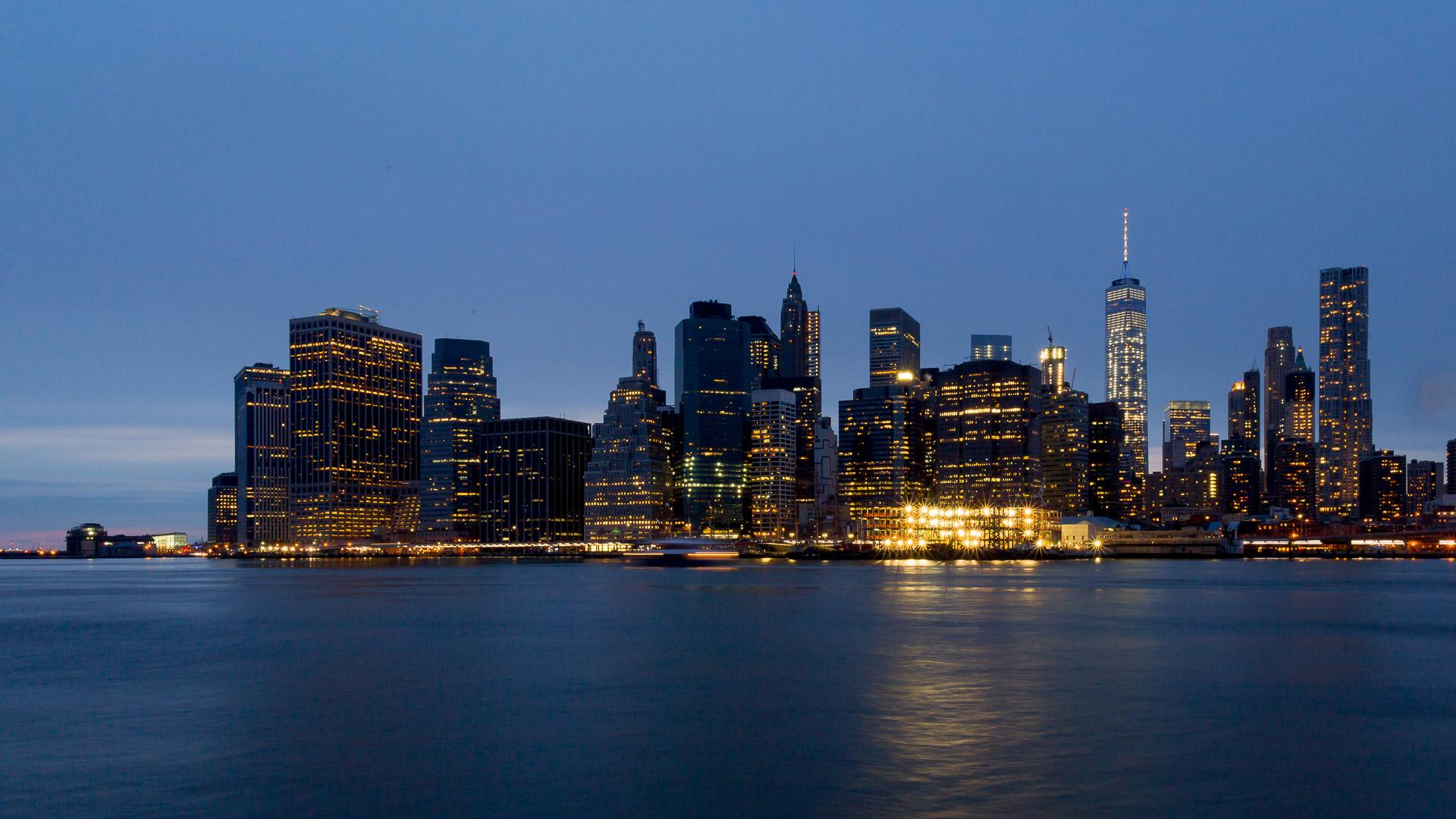 Manhattan Südspitze von Brookly aus