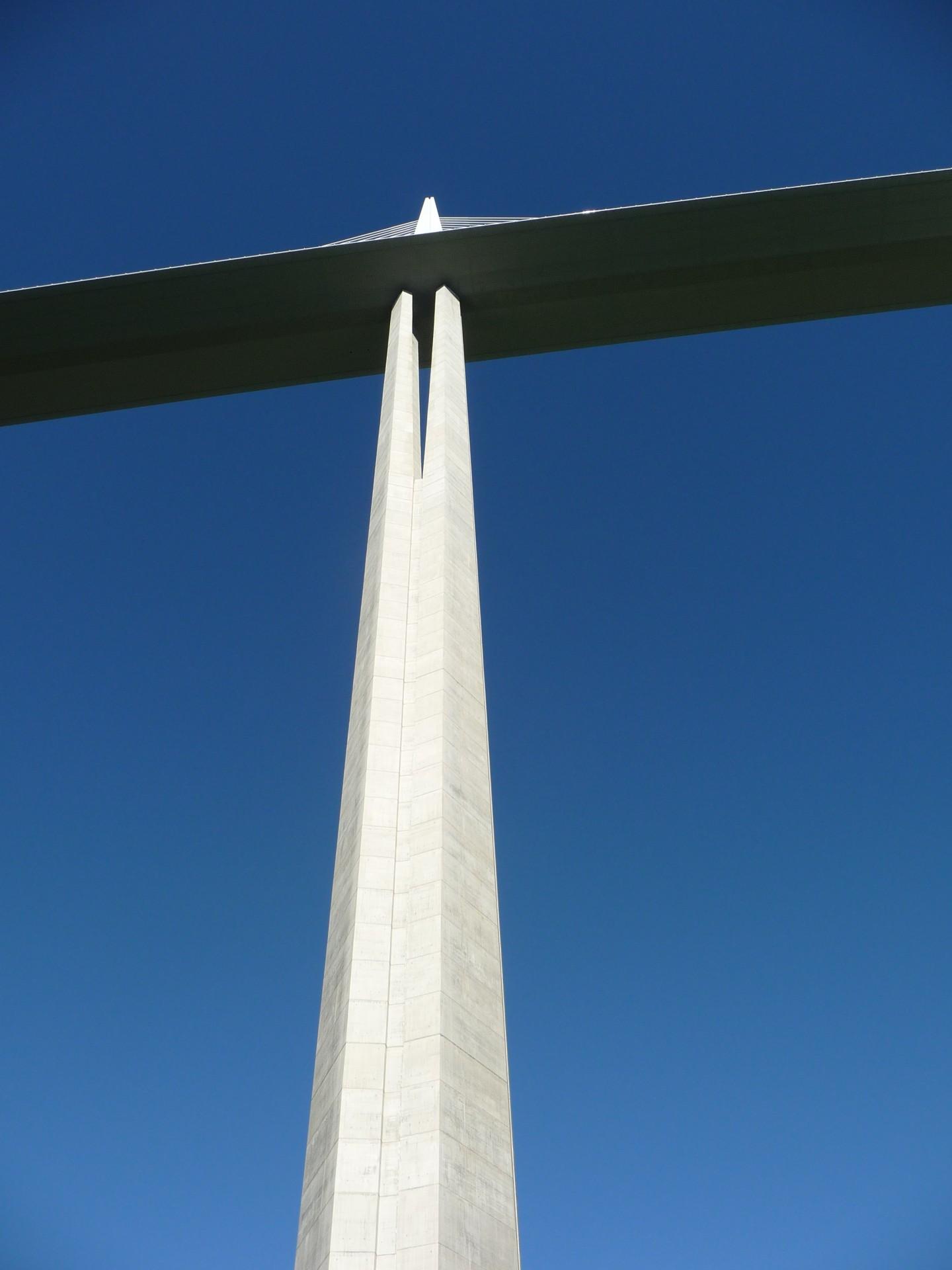Pfeiler vom Viaduc de Millau