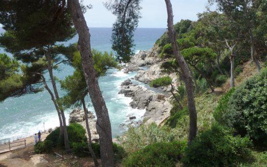 Die Bucht von Lloret de Mar