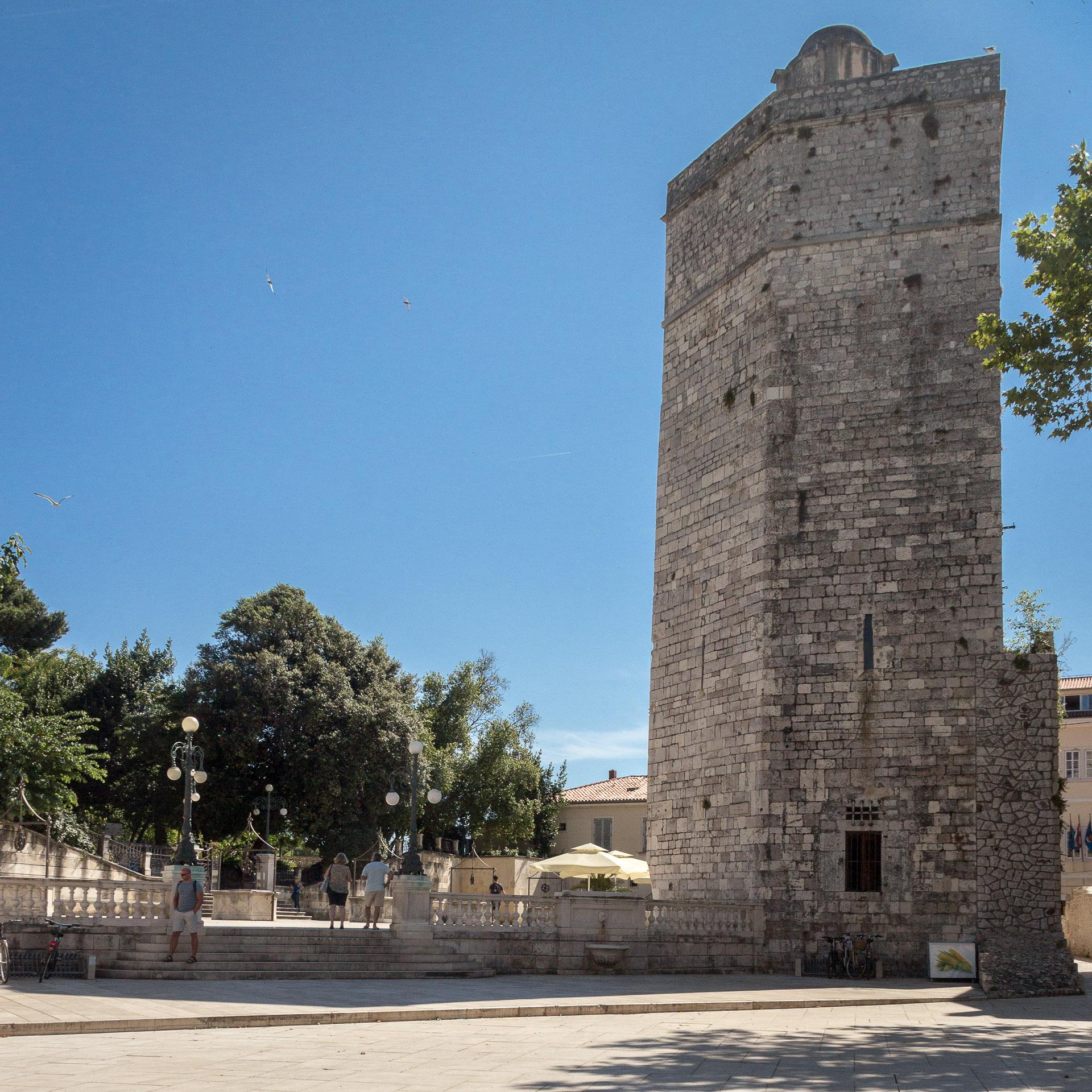 Kapitänsturm in Zadar