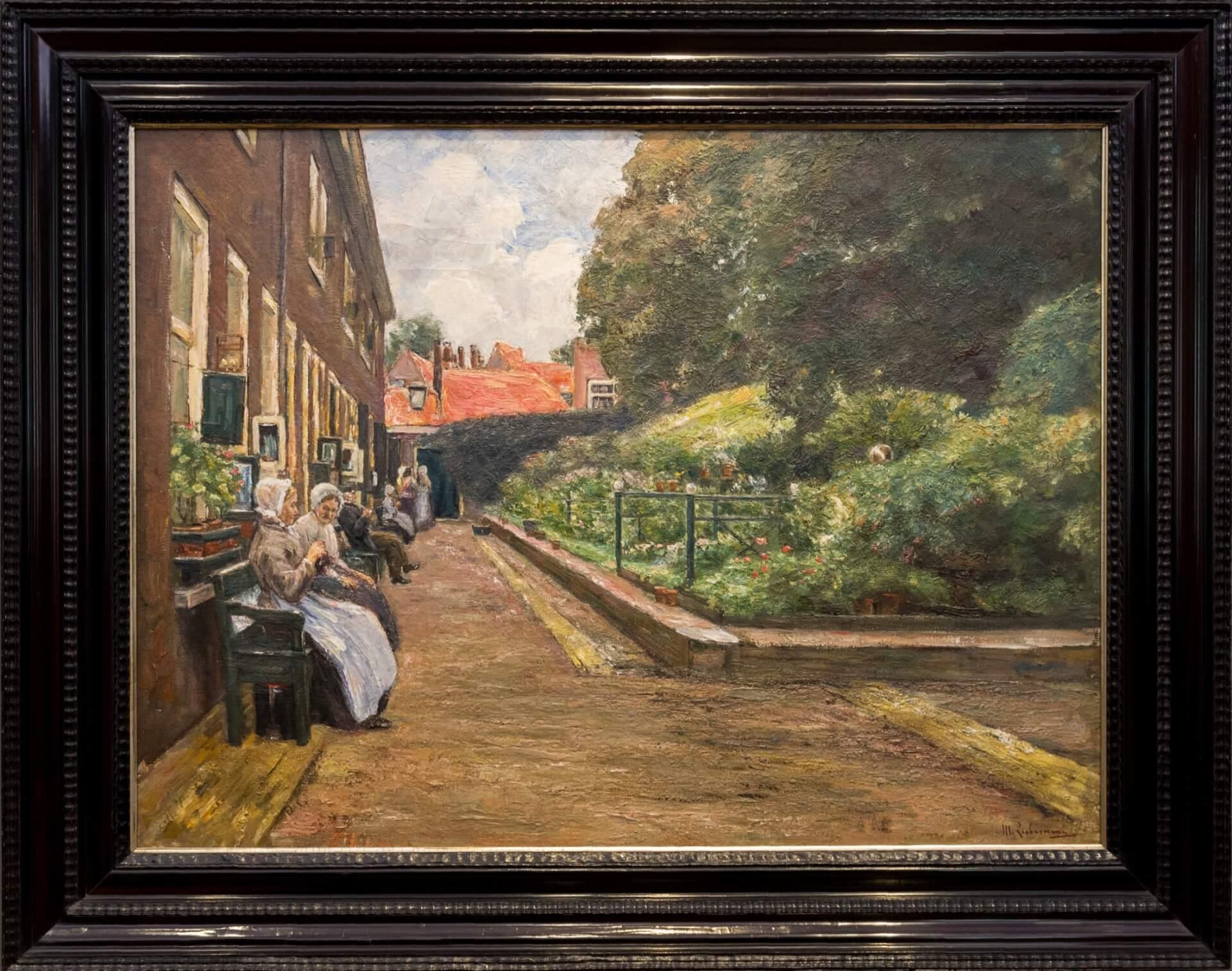 Max Liebermann, Stevenstift in Leiden (1902)