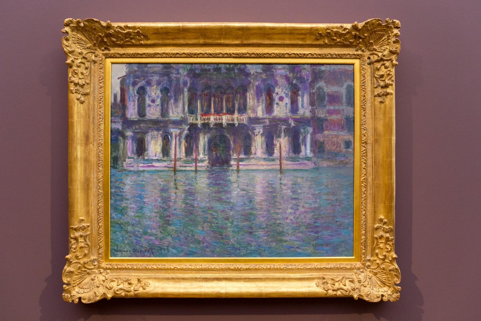 Claude Monet, Palazzo Contarini (1908)