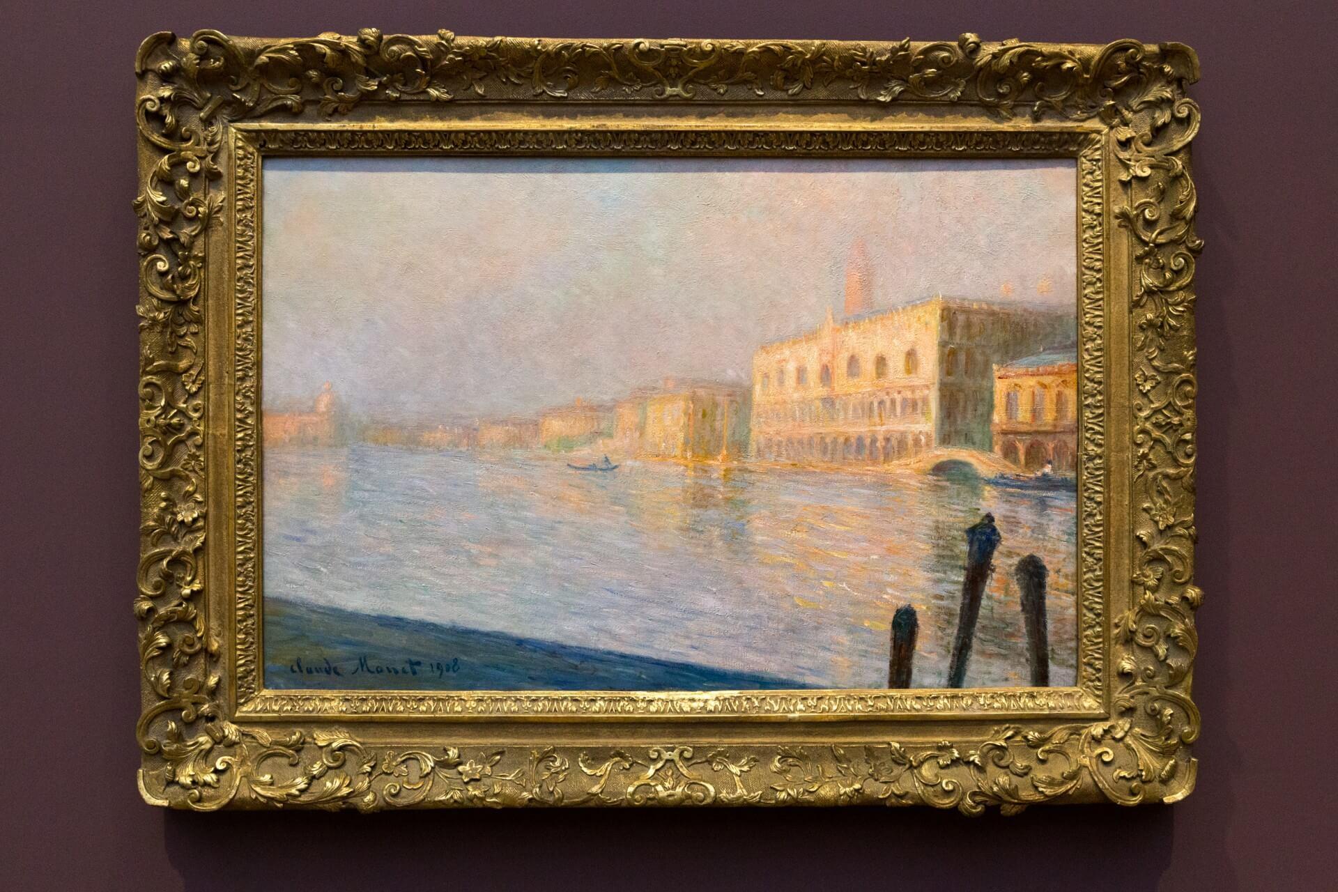 Claude Monet, Palazzo Ducale (1908)