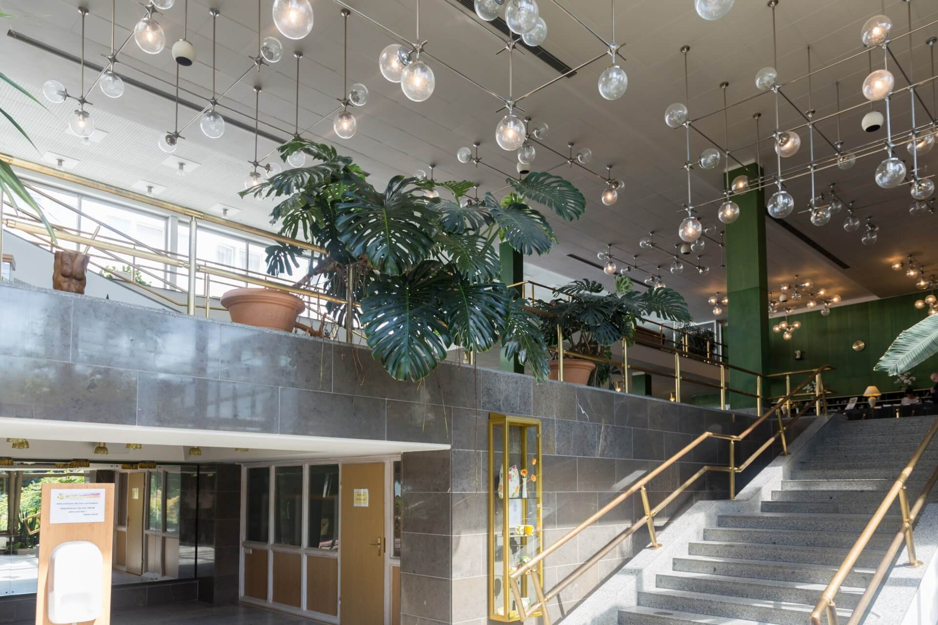 Foyer der Vogtlandklinik Bad Elster