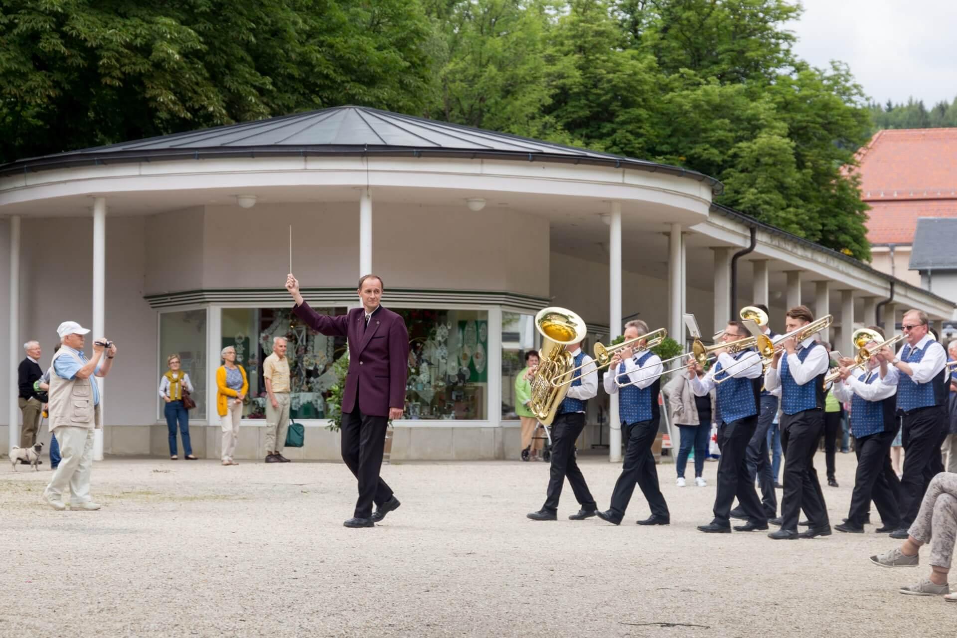 Kurkonzert mit dem Blasorchester Markneukirchen