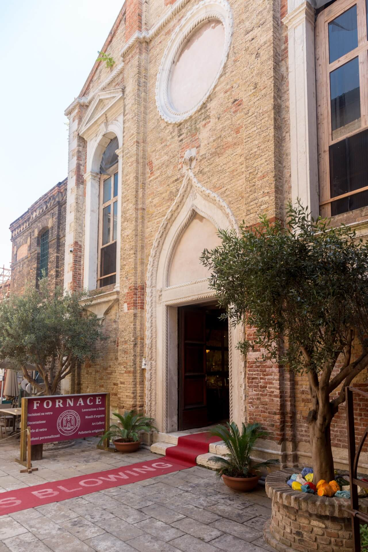 Murano, Fornace Santa Chiara