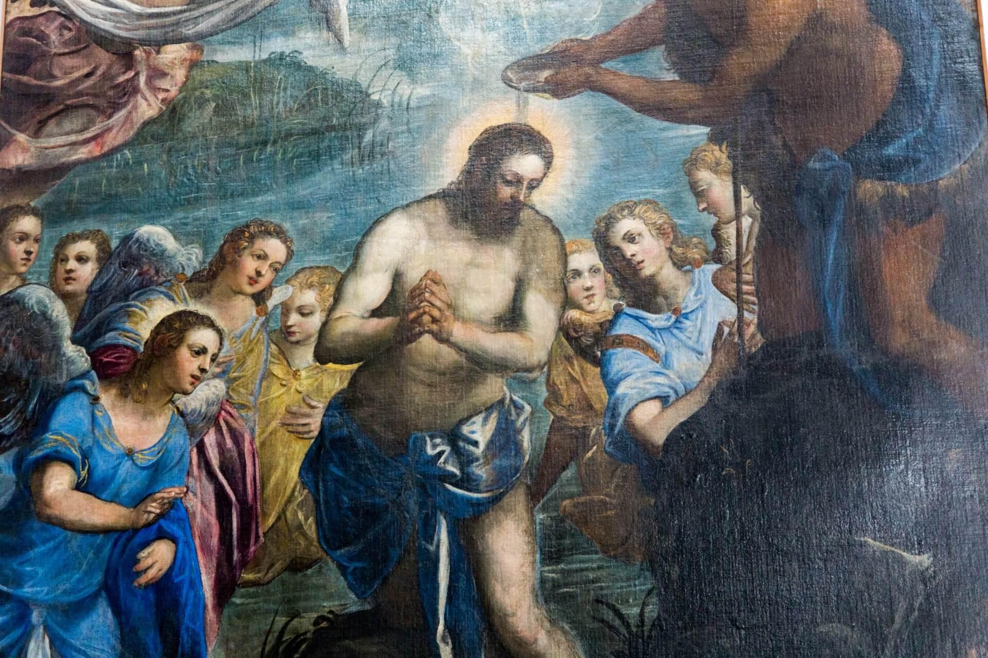 Tintoretto in San Pietro Martire (Ausschnitt)
