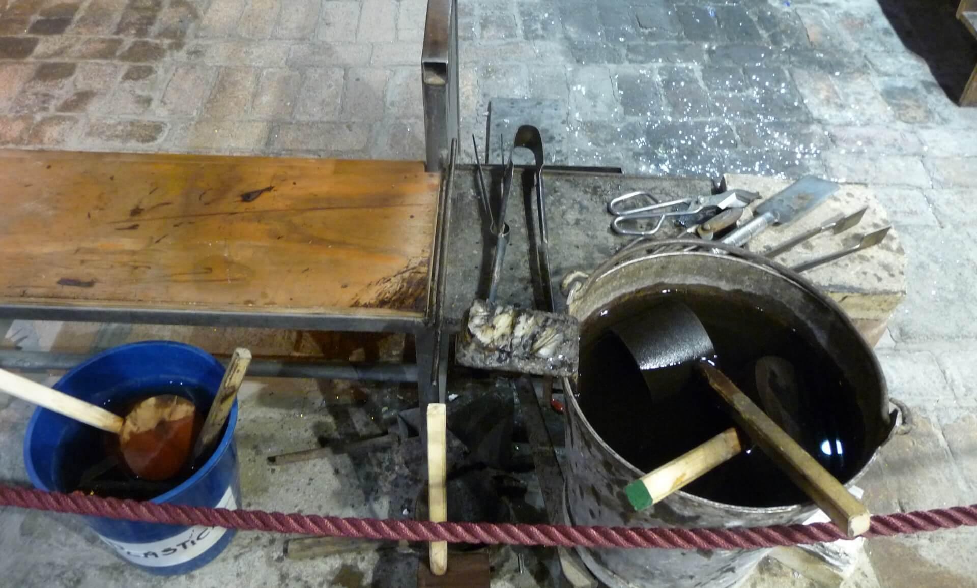 Werkzeug der Glasbläser