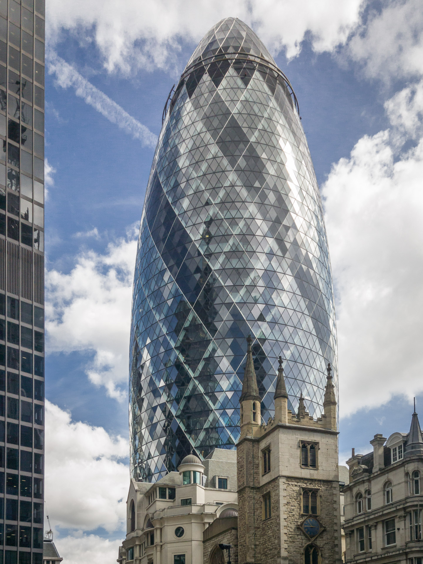 """The Gherkin"", 30 St Mary Axe"