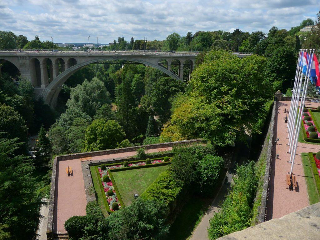 Luxemburg, Petrusse-Tal, Adolphe-Brücke