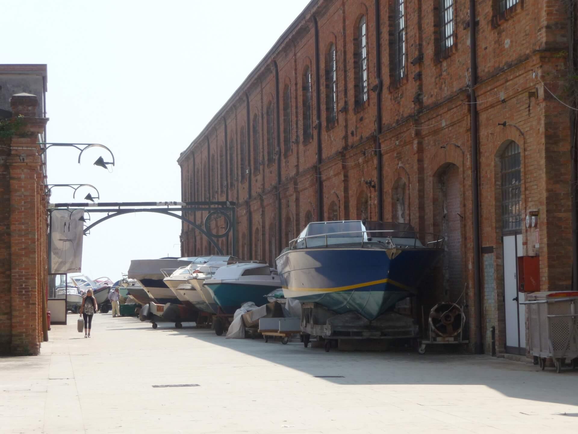 Bootswerft auf Giudecca