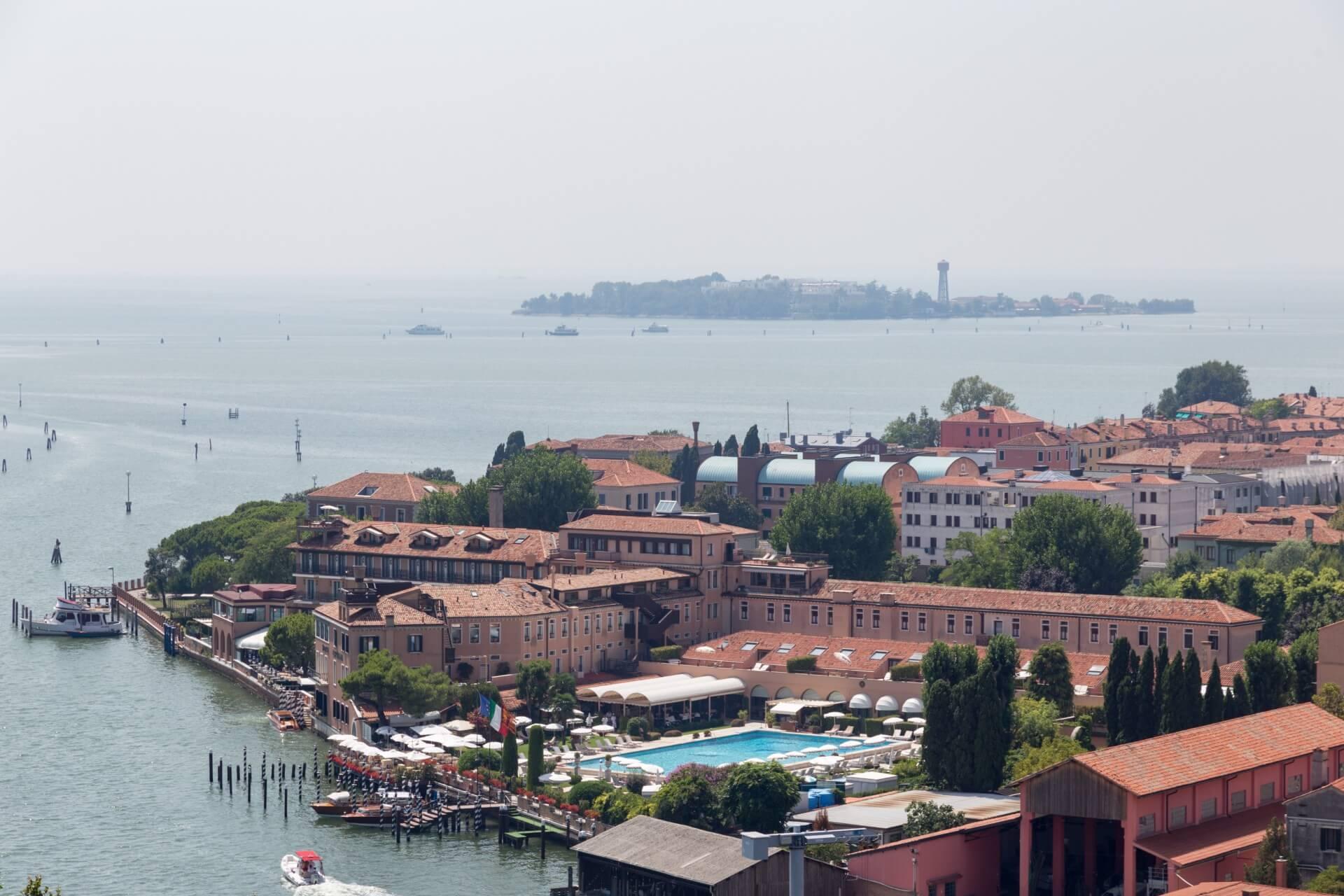 Hotel Cipriani auf Giudecca