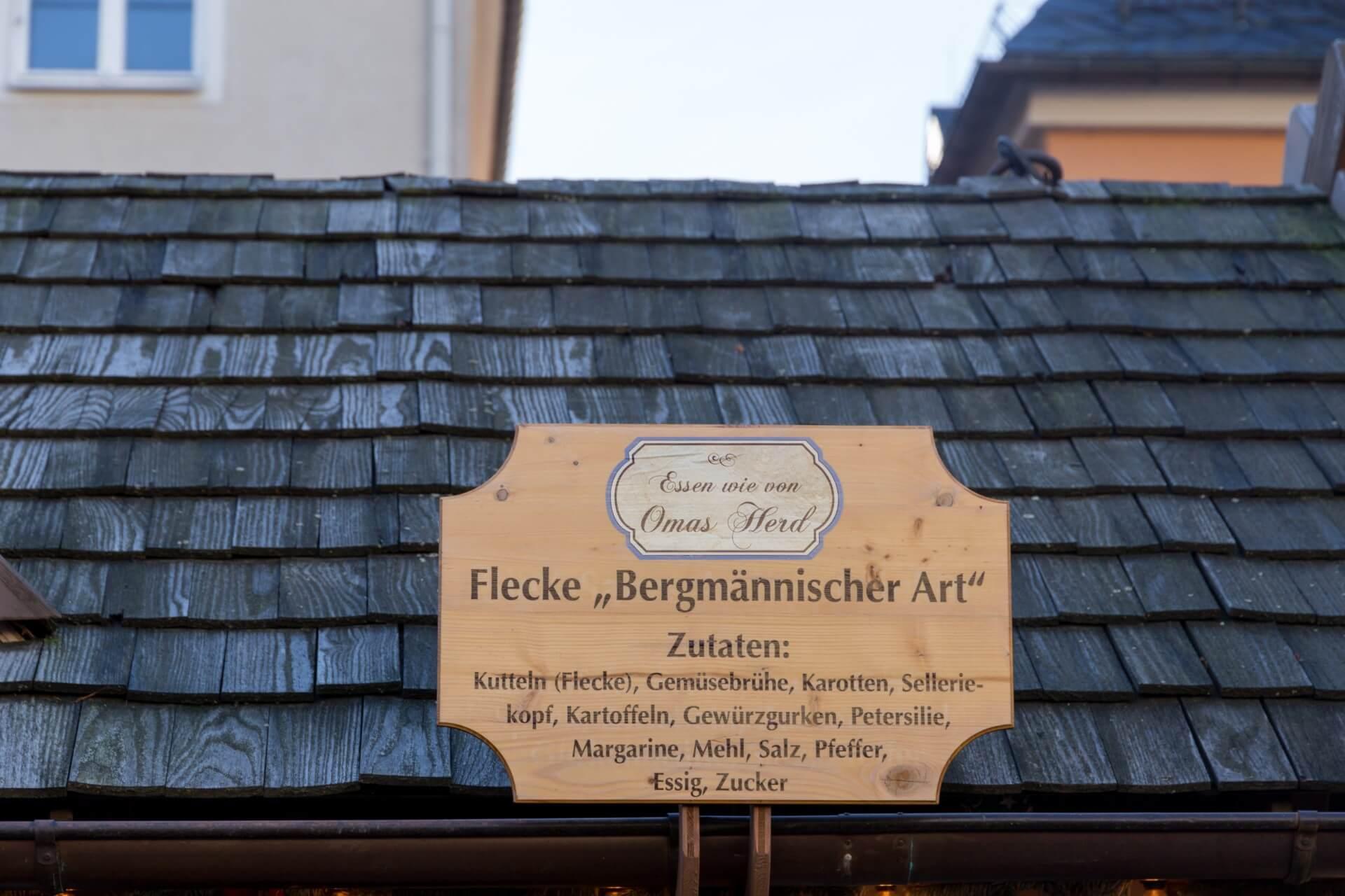Flecke auf dem Weihnachtsmarkt Annaberg-Buchholz