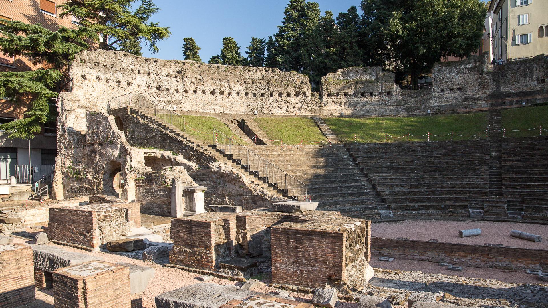 Römisches Theater von Triest