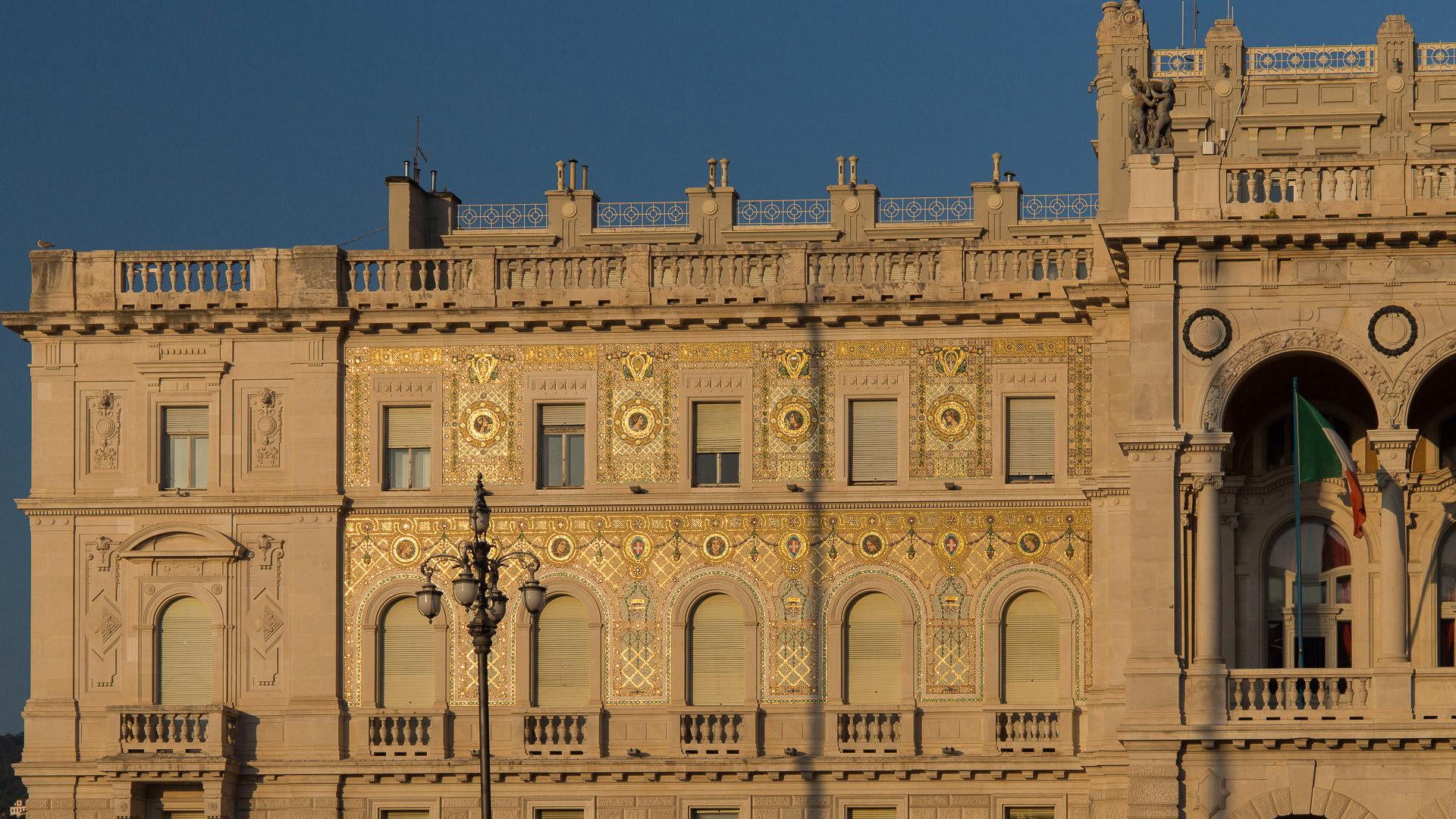 Ornamente des Palazzo del Governo