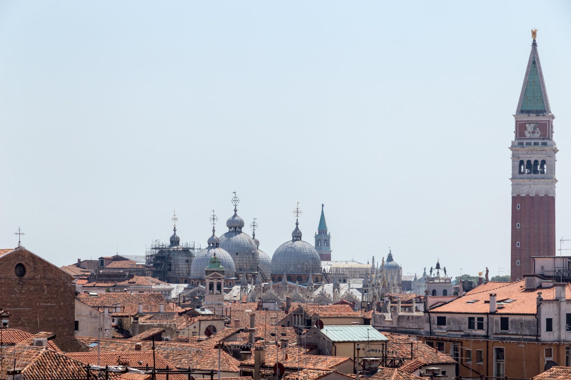 San Marco vom Fondaco dei Tedesci aus gesehen, Venedig