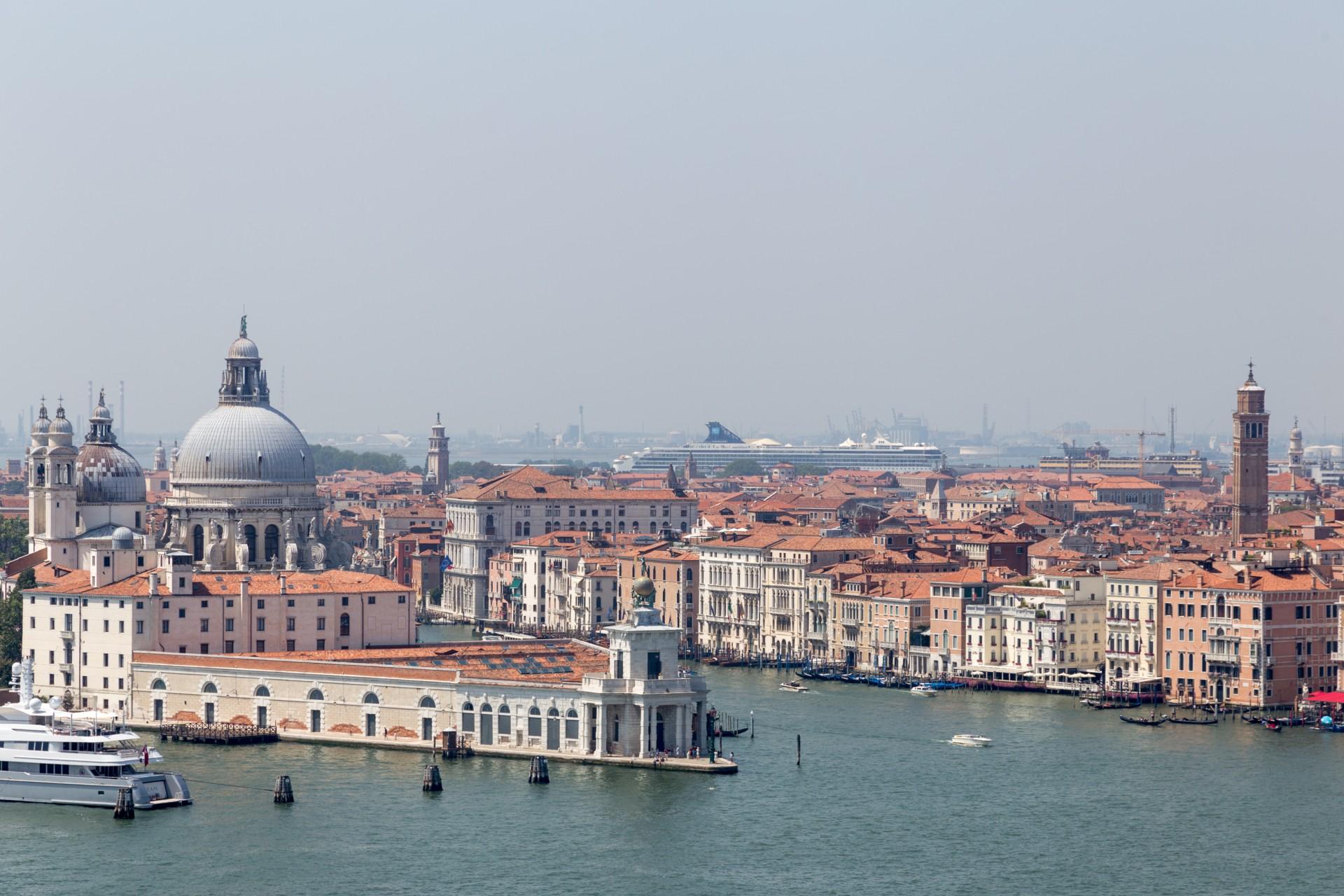 La Salute Venedig von San Giorgio Maggiore aus gesehen