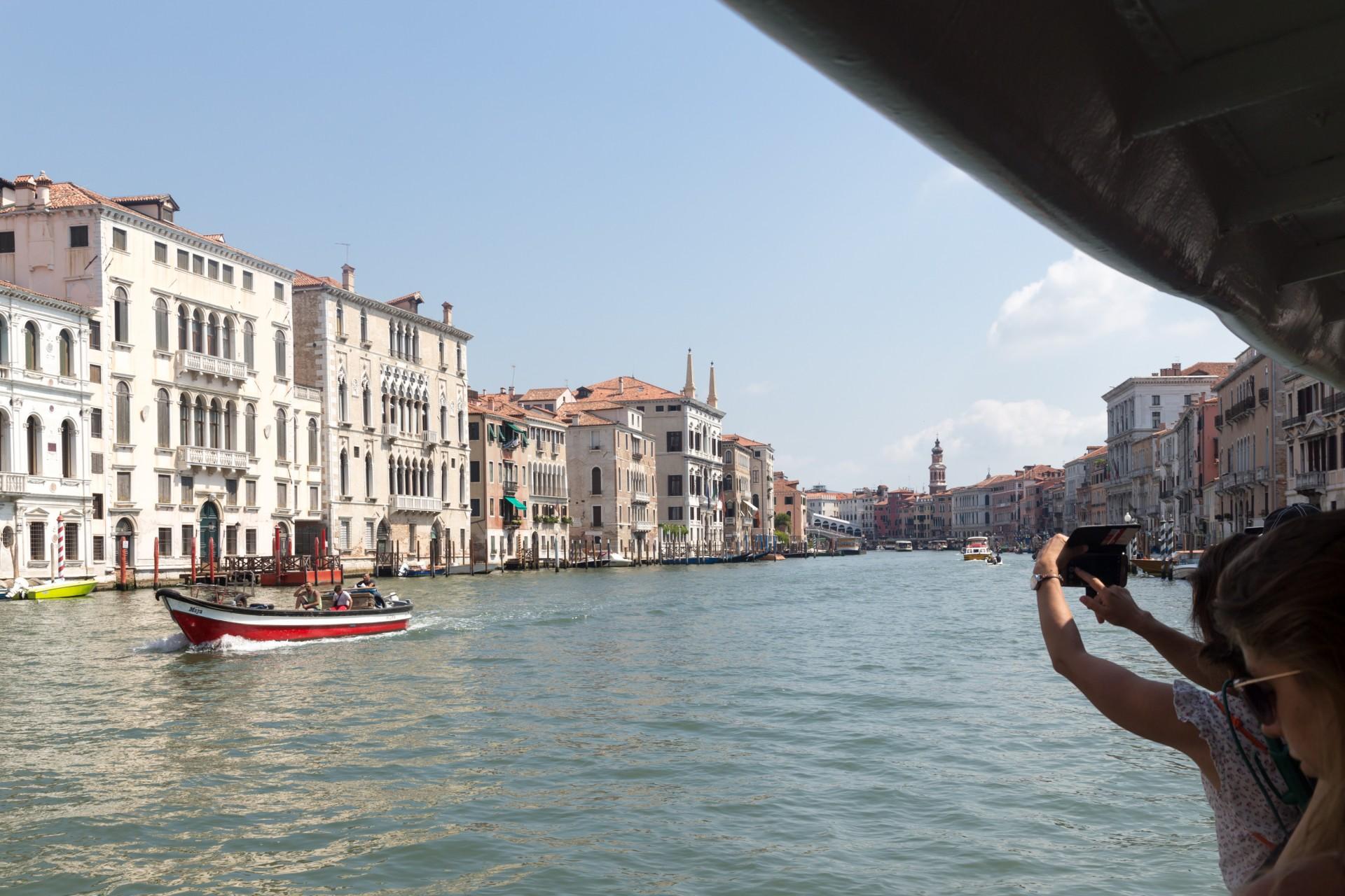 Stadtrundfahrt in Venedig per Vaporetto