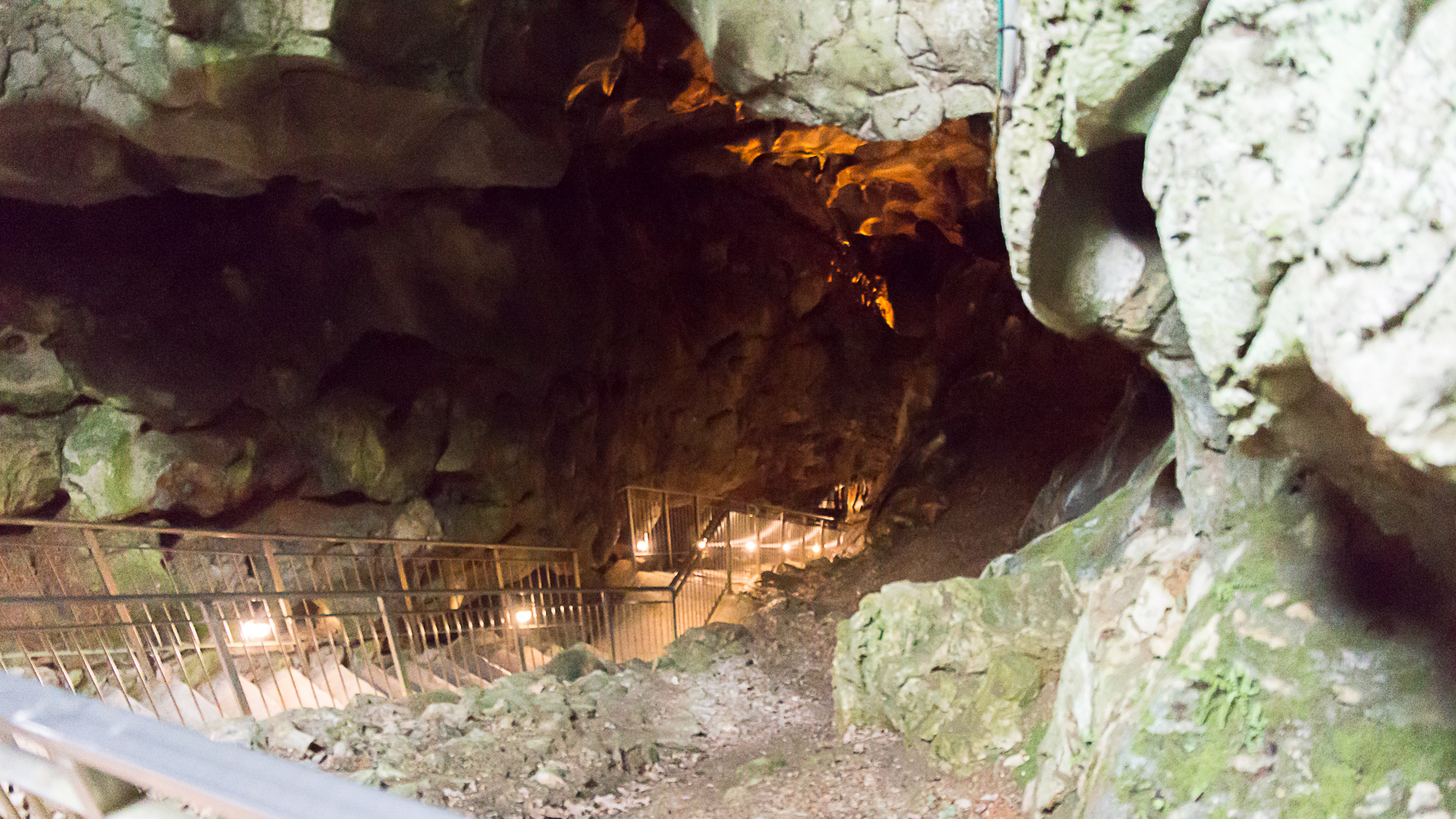 Grotta Gigante Eingang