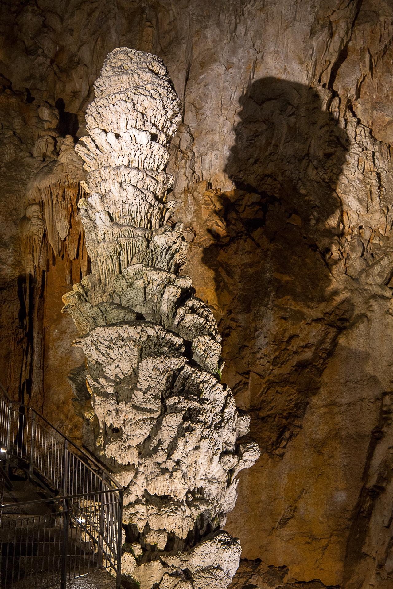 Ruggero Säule mit zwölf Metern Höhe