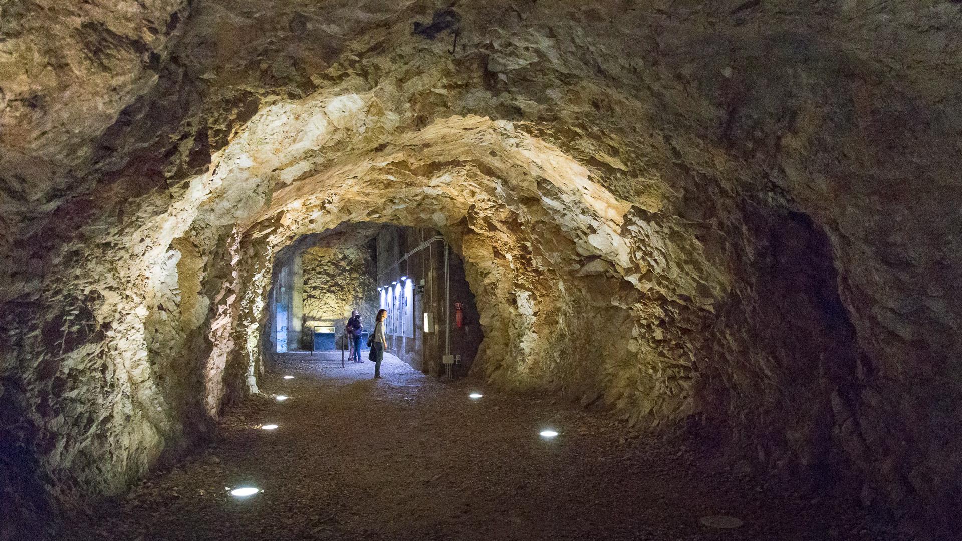 Im Bunker von Duino
