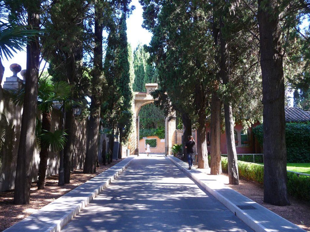 Aventin, Rom, Schlüsselloch