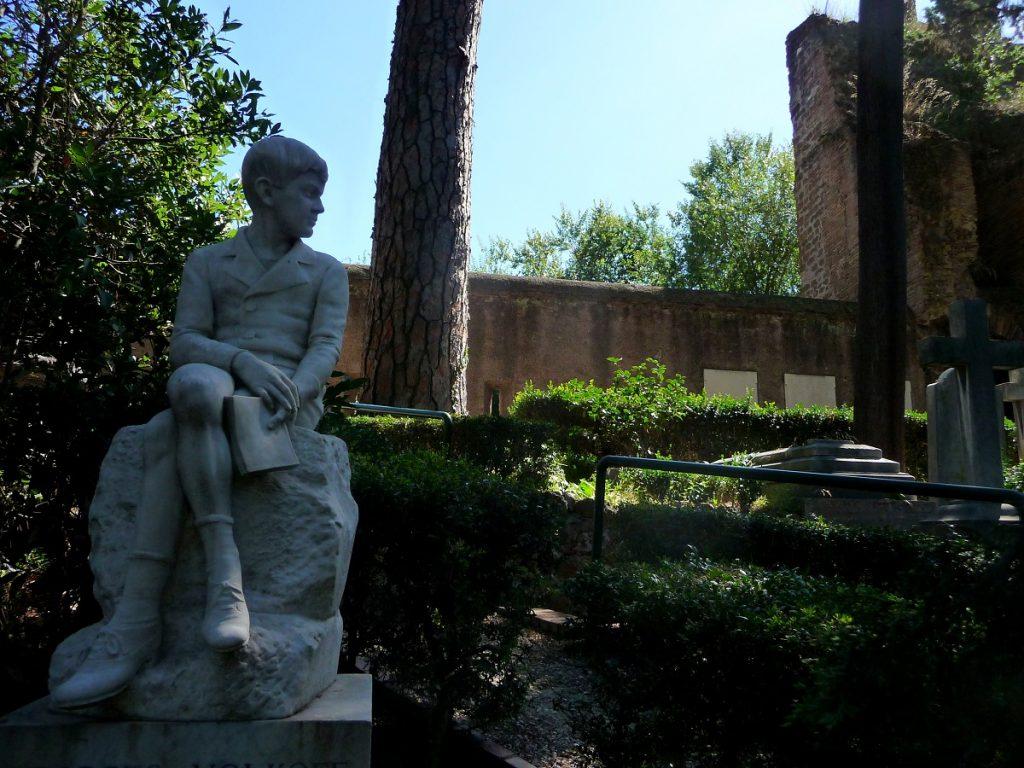 Protestantischer Friedhof, Cimitero acattolico, Rom