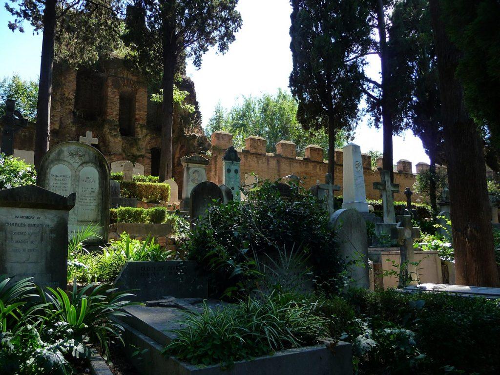 Protestantischer Friedhof, Rom, cimitero acattolico