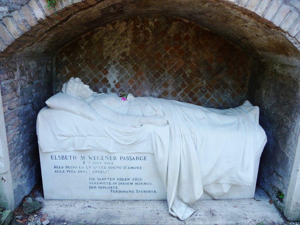 Protestantischer Friedhof, Rom, Seeboeck