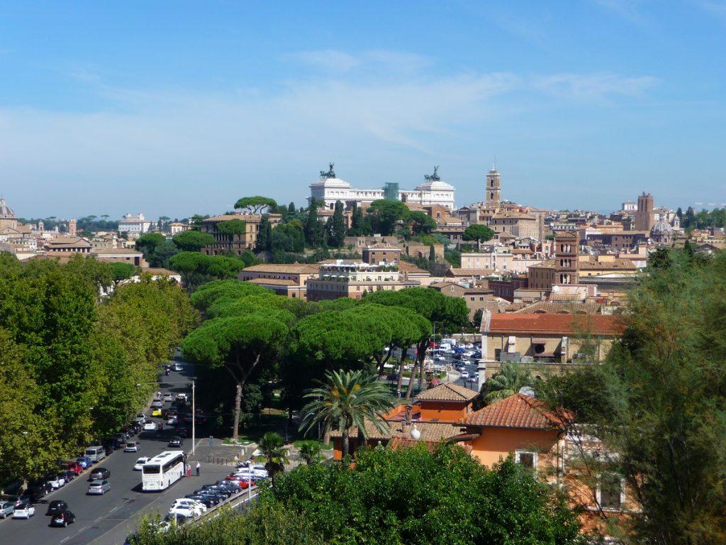 Rom, Aventin, Aussichtspunkt