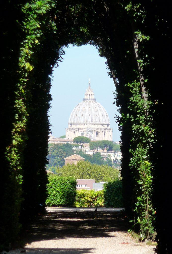 Rom, Aventin, Schlüsselloch