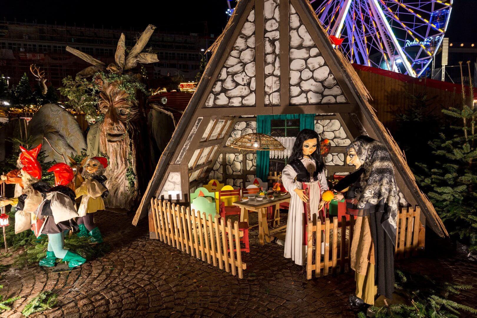 Märchenland, Weihnachtsmarkt Leipzig