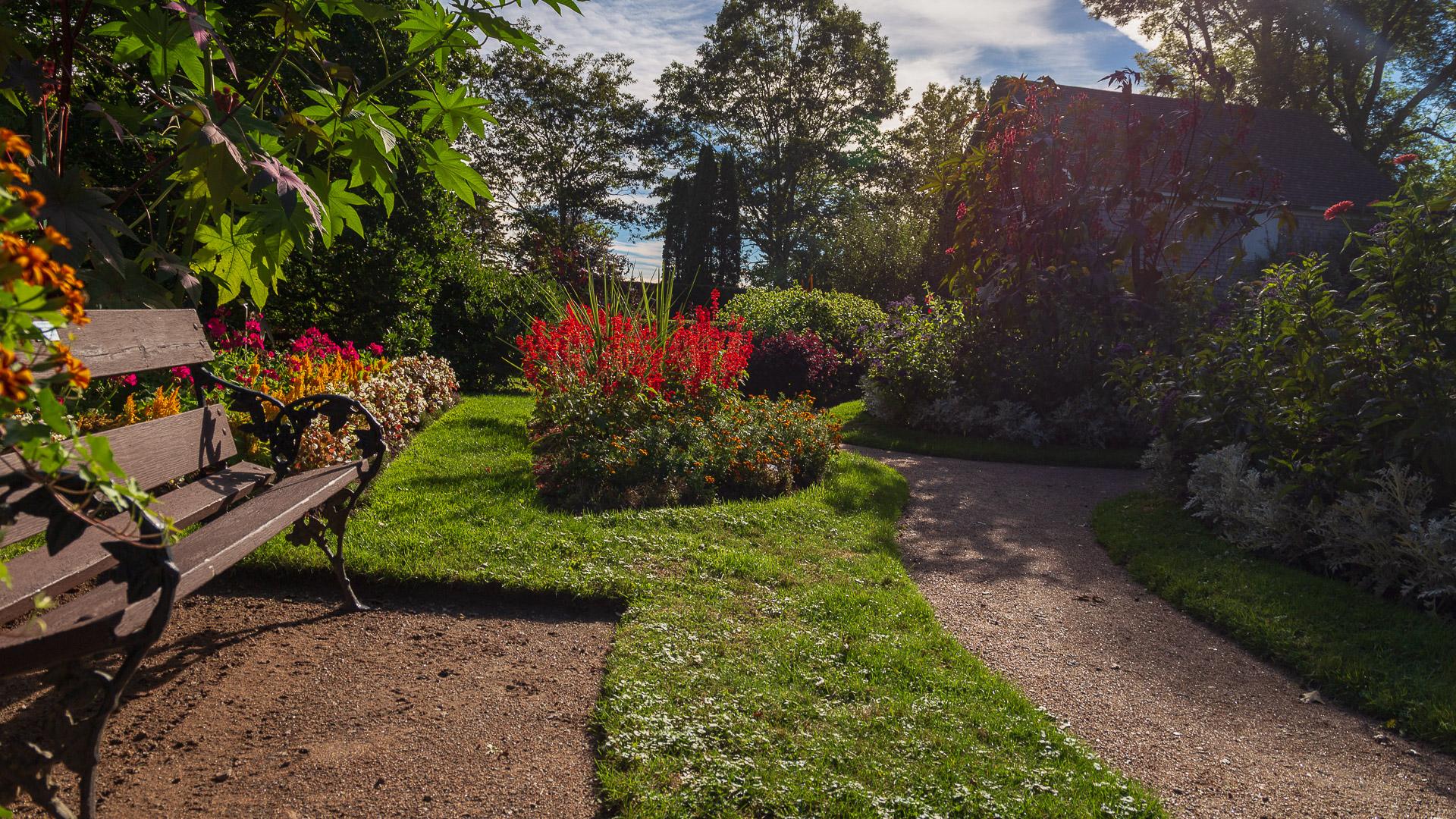 Historische botanische Gärten