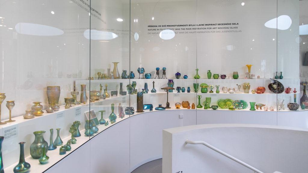 Der Ausstellungsraum des PASK