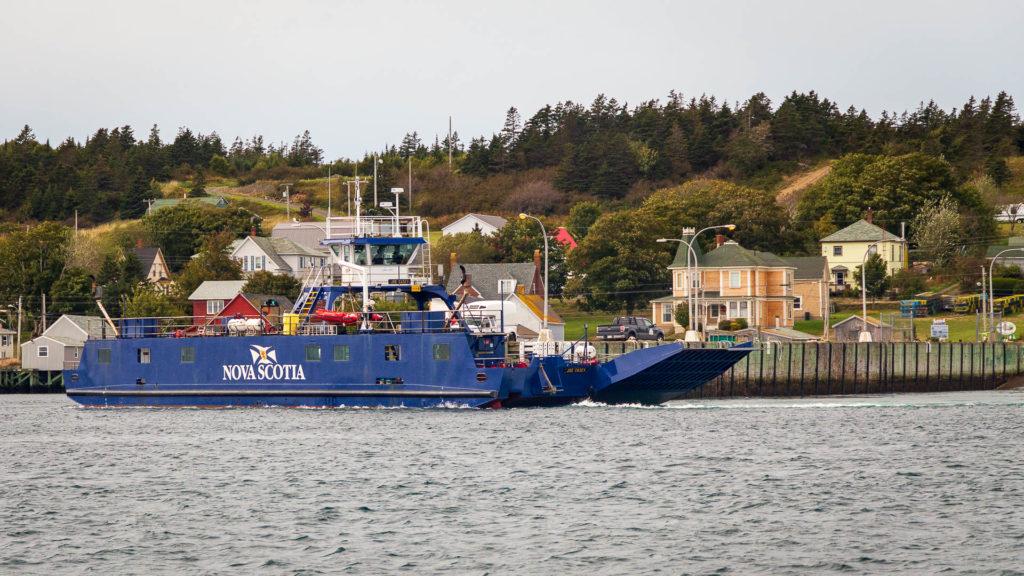 Autofähre nach Brier Island