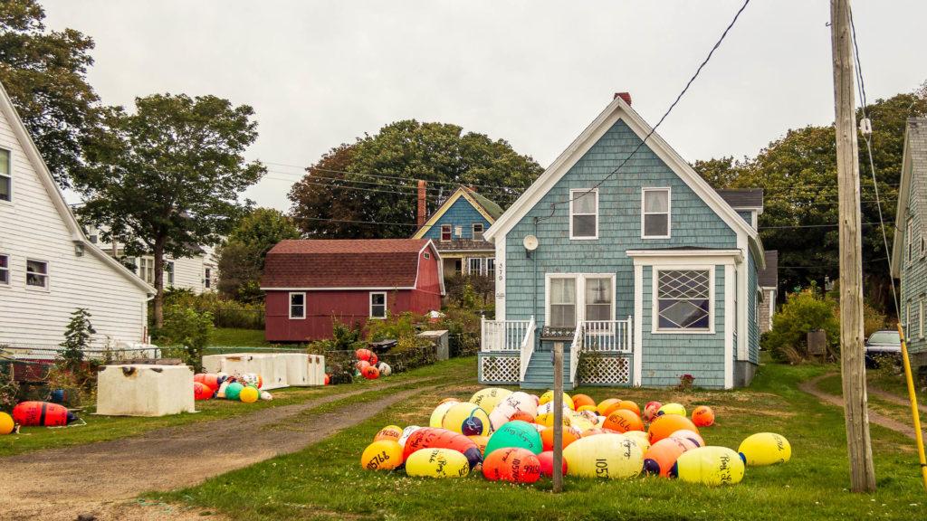 Haus auf Brier Island