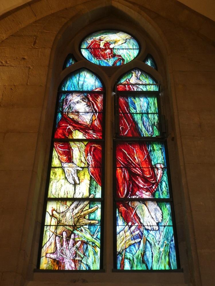 Maqsoodi-Fenster, Heiliger Kuno