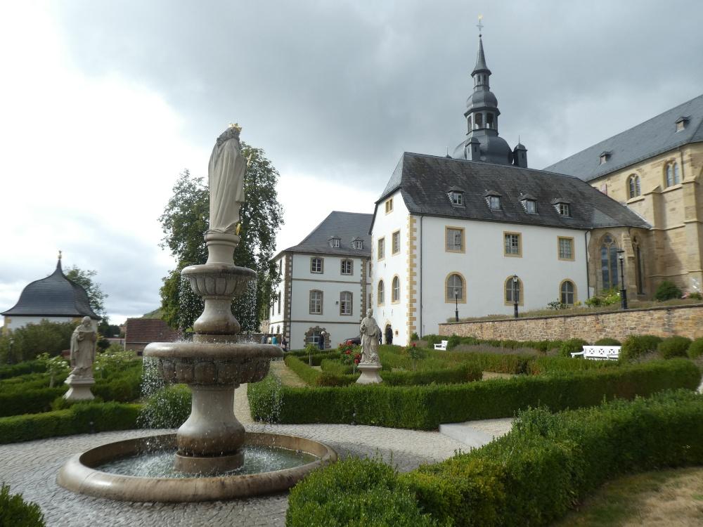 Kloster Tholey, Garten